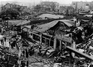 Последствия взрыва в порту Техас-Сити