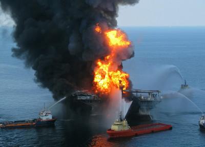 Deepwater Horizon - пожар
