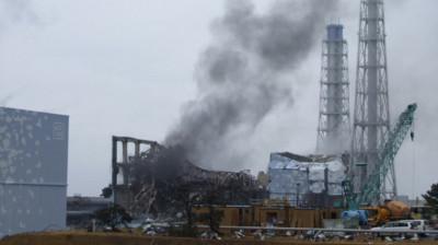 3-й энергоблок АЭС Фукусима-1 после взрыва Фото: AP