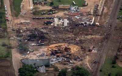 Взрыв на заводе удобрений в Техасе 18 апреля 2013 года